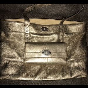 Fossil purse and wallet